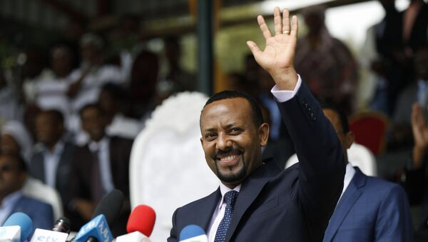 Etiyopya Başbakanı Abiy Ahmed Ali - Sputnik Türkiye