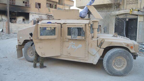 ABD'nin YPG'ye verdiği araçlar ÖSO'nun eline geçti - Sputnik Türkiye