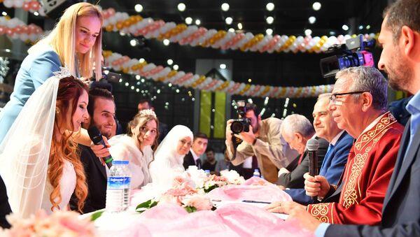 Ankara, toplu nikah töreni - Sputnik Türkiye