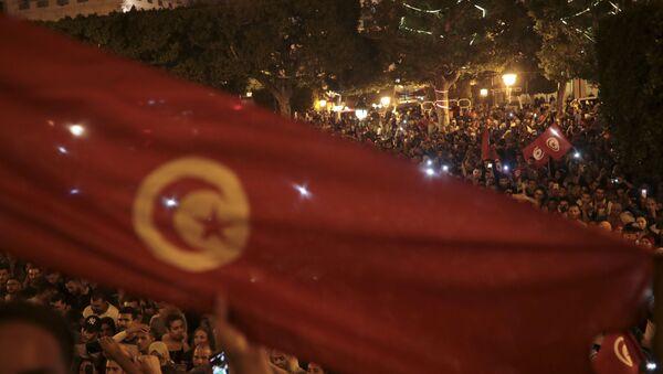 Tunus, seçim, kutlama - Sputnik Türkiye
