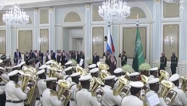 Suudi bandosundan Rusya milli marşı 'remiksi': 'En azından denediler' - Sputnik Türkiye