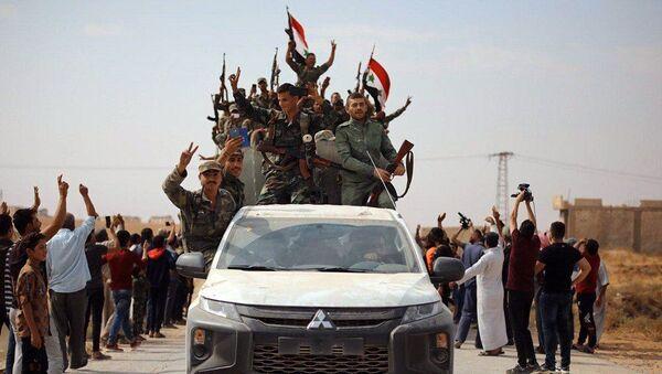 Suriye Ordusu, Ayn İsa - Sputnik Türkiye