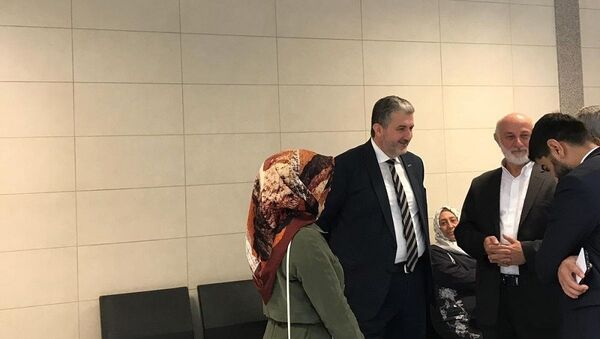 MÜSİAD Başkanı Abdurrahman Kaan, Fadıl Akgündüz davası - Sputnik Türkiye