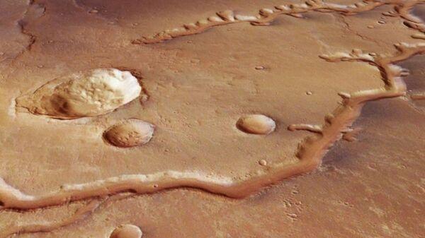 Mars'ta 4 milyar yıllık nehir yatağı bulundu - Sputnik Türkiye
