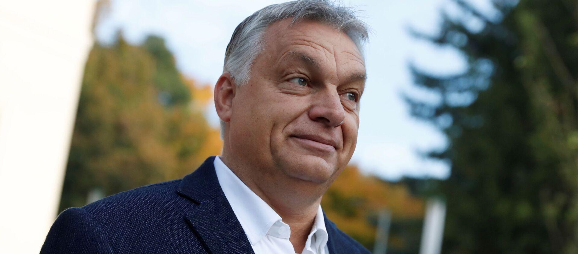 Macaristan Başbakanı Viktor Orban - Sputnik Türkiye, 1920, 23.06.2021