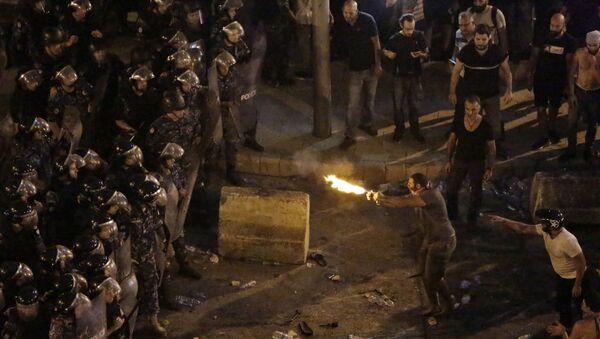 Lübnan, protesto - Sputnik Türkiye