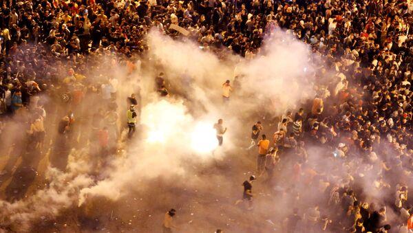 Lübnan'ın başkenti Beyrut'ta protestolar - Sputnik Türkiye