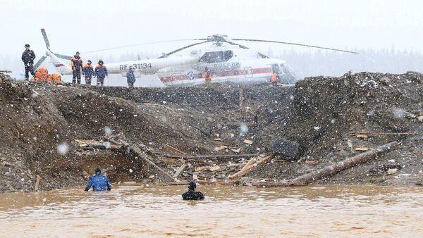 Rusya'nın Krasnoyarsk Bölgesi'nde baraj çöktü - Sputnik Türkiye