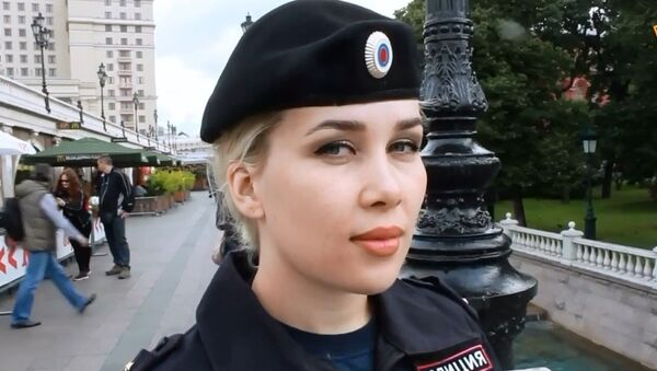 Rusya'nın polis güzelleri - Sputnik Türkiye