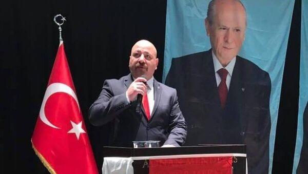 MHP Darıca İlçe Başkanı Adem Emre Aygün - Sputnik Türkiye