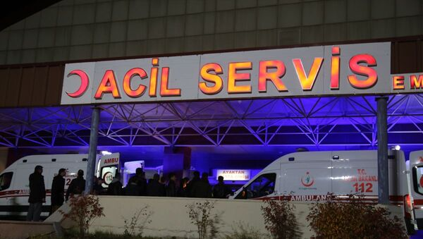 Kars'ta askeri aracın geçişi sırasında patlama - Sputnik Türkiye