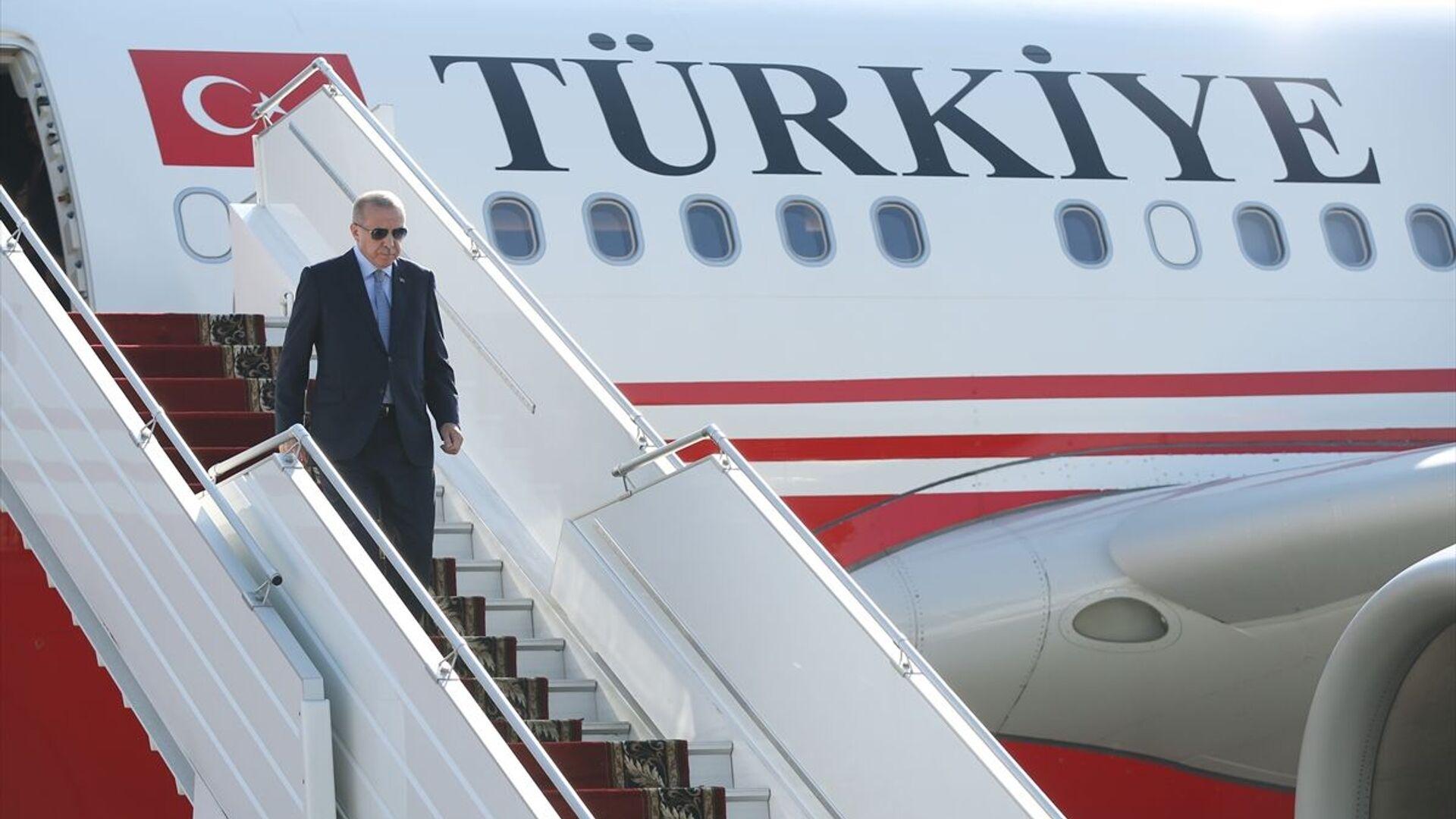 Türkiye Cumhurbaşkanı Recep Tayyip Erdoğan - Sputnik Türkiye, 1920, 18.09.2021