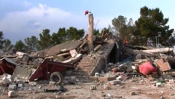 ABD'li birliklerin terkettikleri Til Temir yanındaki askeri üse Suriye ordusu girdi - Sputnik Türkiye