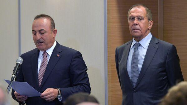 Erdoğan ile Putin'in Soçi'deki görüşmesinden kareler - Sputnik Türkiye