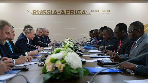 Rusya ile Afrika ülkeleri arasında toplam 72 milyar TL'lik 50 anlaşma imzalandı - Sputnik Türkiye