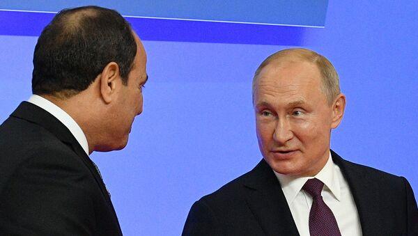 Putin, Sisi - Sputnik Türkiye