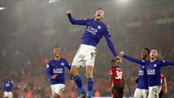 Leicester City'den 9 gollü tarihi galibiyet - Sputnik Türkiye