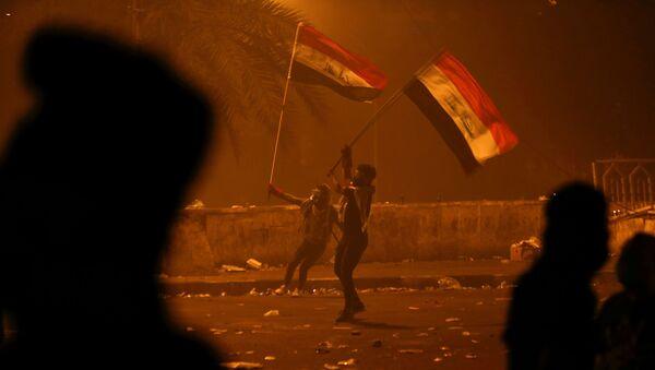 Irak'ta protestolar - Sputnik Türkiye