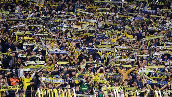Fenerbahçe ile Konyaspor arasında Ülker Stadyumu'nda oynanan karşılaşmayı 39 bin 425 biletli seyirci takip etti. - Sputnik Türkiye