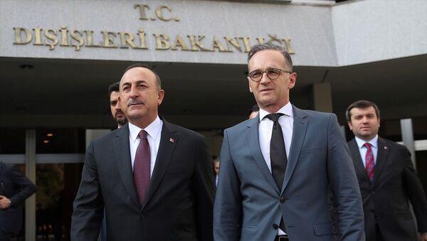 Mevlüt Çavuşoğlu, Heiko Maas - Sputnik Türkiye