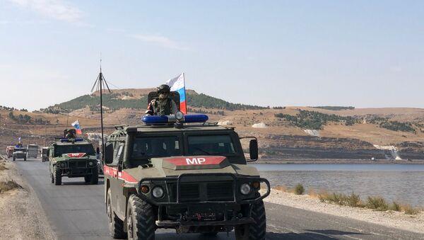 Rus askeri polisleri - Sputnik Türkiye