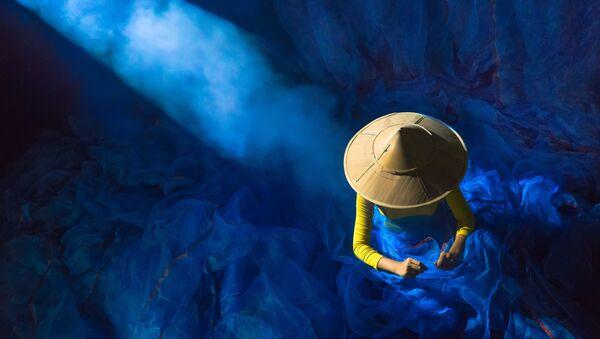 Dünyanın En İyi Mavi Renkli Fotoğrafları Yarışması 2019 - Sputnik Türkiye