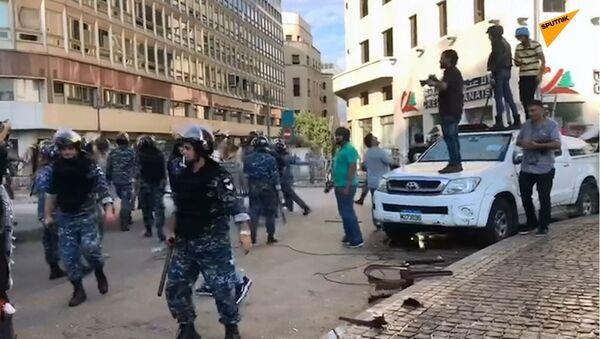 Lübnan - protesto - Sputnik Türkiye