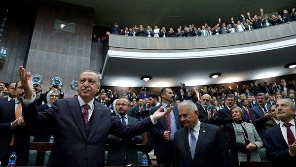 Recep Tayyip Erdoğan, AK Parti TBMM Grup toplantısı - Sputnik Türkiye