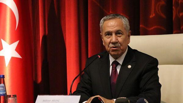 Cumhurbaşkanlığı Yüksek İstişare Kurulu (YİK) Üyesi Bülent Arınç - Sputnik Türkiye