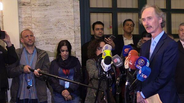 BM Suriye Özel Temsilcisi Geir O. Pedersen - Sputnik Türkiye