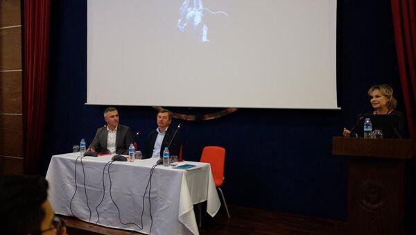 Rus kozmonot Aleksandr Lazutkin - Sputnik Türkiye