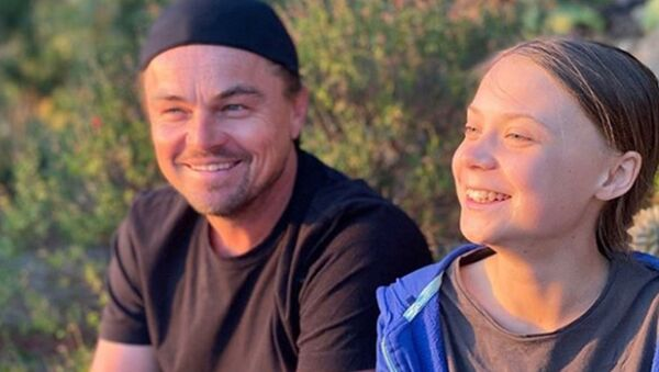 İsveçli iklim aktivisti Greta Thunberg'e, Oscarlı oyuncu Leonardo DiCaprio'dan destek geldi - Sputnik Türkiye