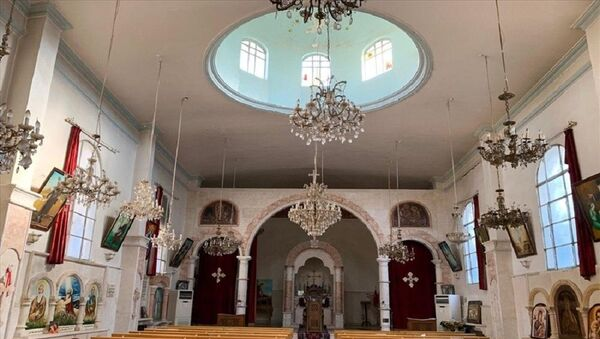 Tel Abyad ve Rasulayn, kilise - Sputnik Türkiye