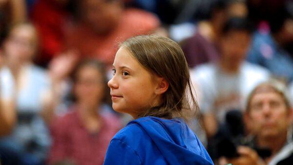 İsveçli iklim aktivisti Greta Thunberg  - Sputnik Türkiye