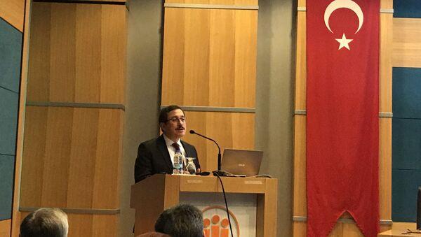 İnönü Üniversitesi Rektörü Prof. Dr. Ahmet Kızılay - Sputnik Türkiye
