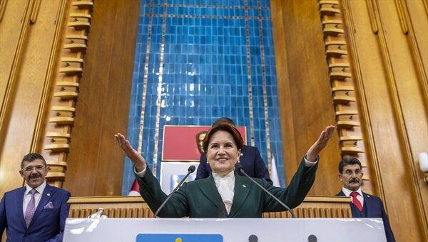 İYİ Parti Genel Başkanı Meral Akşener, partisinin TBMM'deki grup toplantısına katıldı. - Sputnik Türkiye