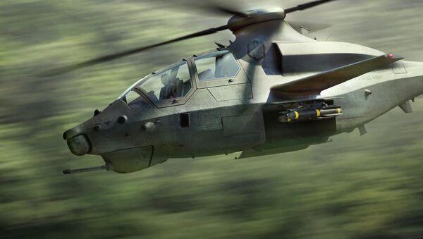 Разведывательно-ударный вертолет Bell 360 Invictus - Sputnik Türkiye