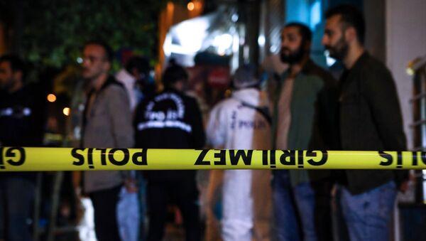AFAD - polis ekipleri olay yeri incelemeleri - Sputnik Türkiye