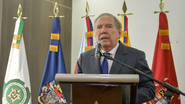 Kolombiya Savunma Bakanı Guillermo Botero - Sputnik Türkiye