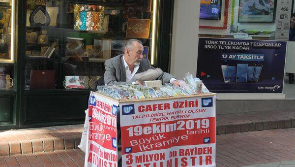 İzmit milli piyango satıcısı - Sputnik Türkiye