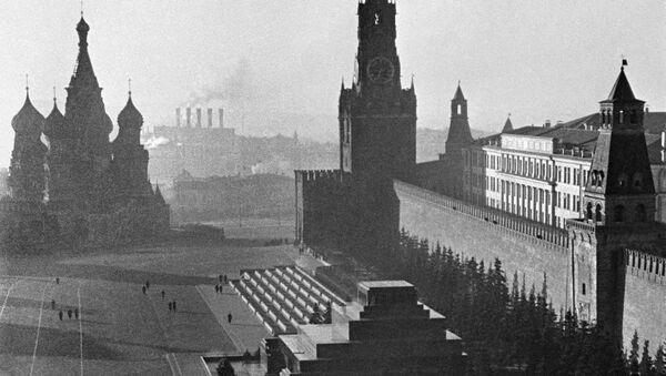 Kızıl Meydan ve Kremlin. 1941 yılı. - Sputnik Türkiye