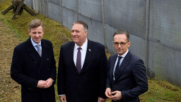 ABD Dışişleri Bakanı Mike Pompeo ve Almanya Dışişleri Bakanı Heiko Maas - Sputnik Türkiye