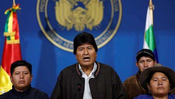 Evo Morales - Sputnik Türkiye