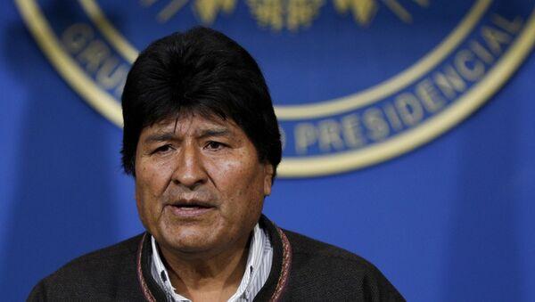 Bolivya Devlet Başkanı Evo Morales - Sputnik Türkiye