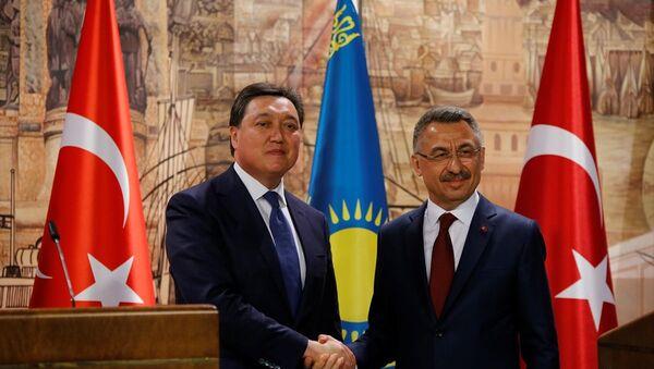 Türkiye-Kazakistan Hükumetlerarası KEK 11. Dönem Toplantısı - Sputnik Türkiye