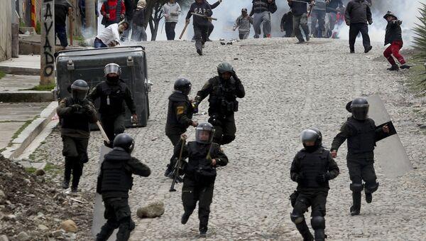 Bolivya, şiddet eylemleri - Sputnik Türkiye