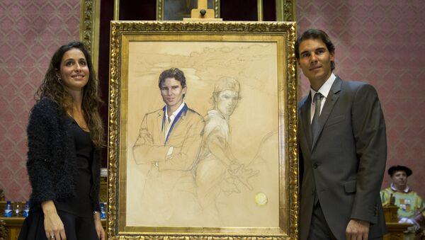 Rafael Nadal ve Maria Francisca Perello - Sputnik Türkiye