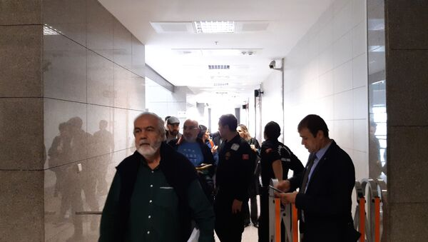 Ahmet Altan- Mahkeme - Sputnik Türkiye