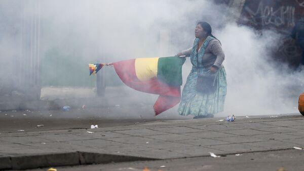 Bolivya, protesto - Sputnik Türkiye