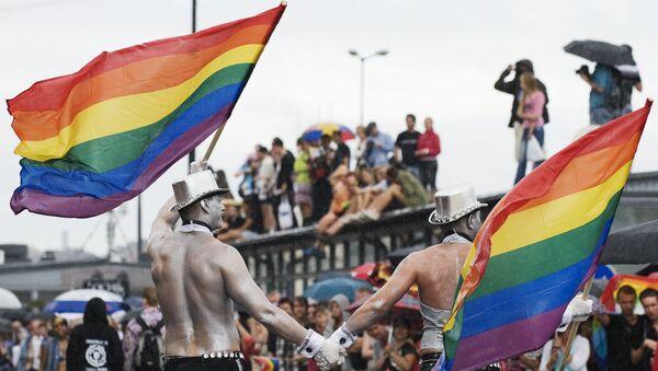İsveç Onur Yürüyüşü-LGBTİ - Sputnik Türkiye